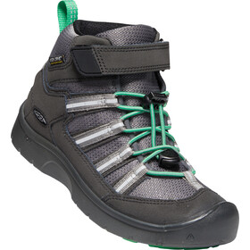 Keen Hikeport 2 Sport Mid WP Sko Børn, black/irish green
